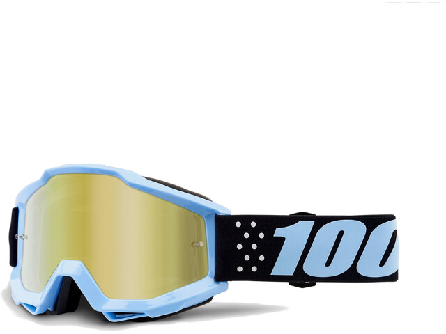 100% Accuri Anti Fog Mirror Goggles blå (2019) | Briller